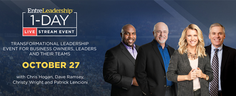 EntreLeadership 1-Day conference banner