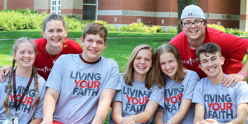 Living Your Faith campers