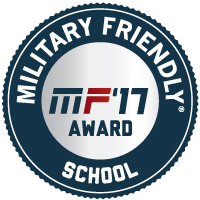 Military Friendly 2017 logo