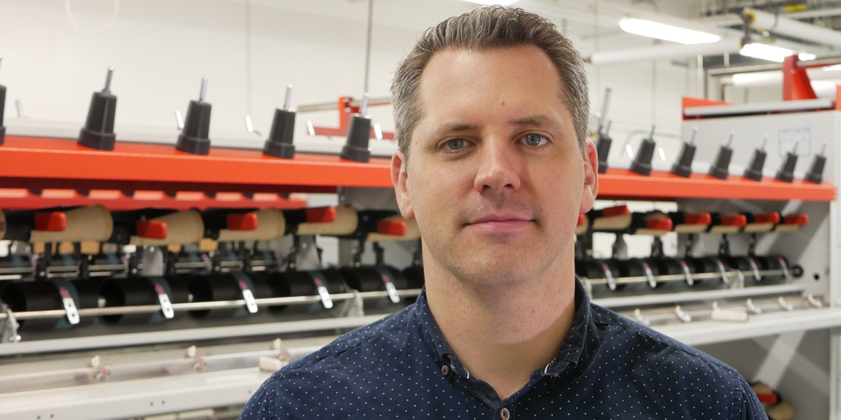 Luke Haverhals is founder and CEO of Natural Fiber Welding Inc., which seeks to replace petroleum-based products with sustainable plant-based alternatives.