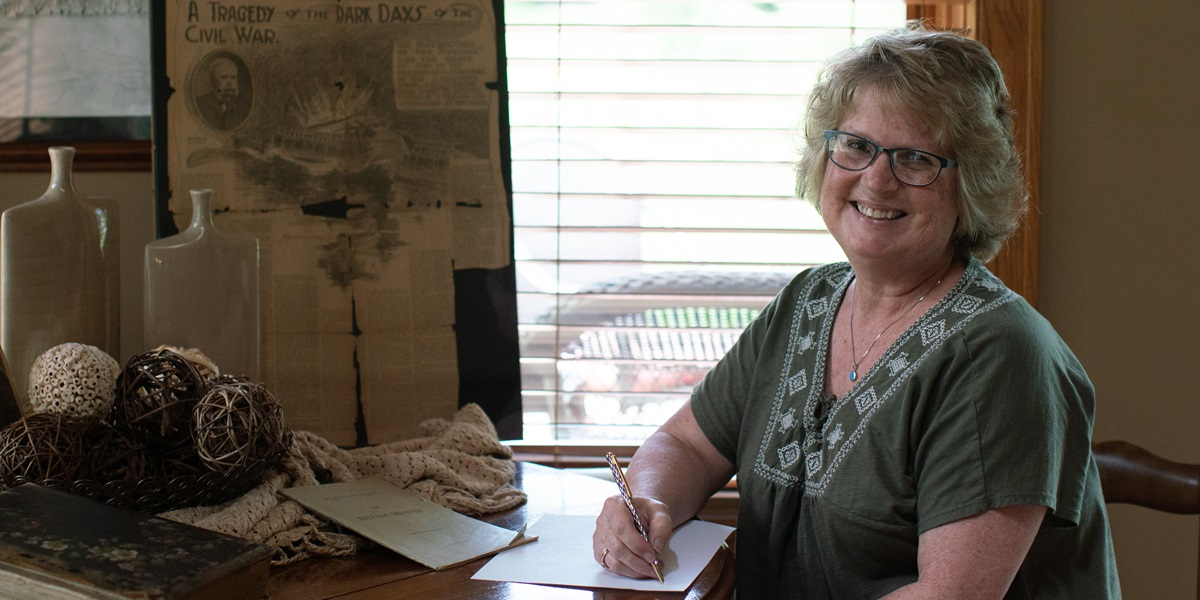 Lila Sybesma spent 10 years researching the steamboat Sultana's explosion while writing a young adult novel inspired by her family's connection to the tragedy.