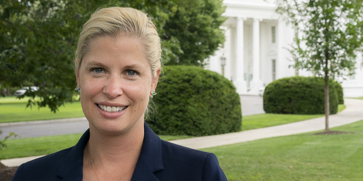Lt. Col. JoAnna Jackson '02 serves as an emergency physician on the White House medical team.