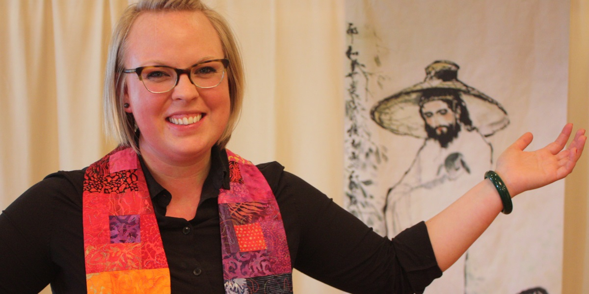 Hannah Cornthwaite leads a Beijing congregation that includes worshipers from Australia, Europe, India, New Zealand, South Africa and the U.S.